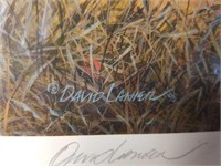"Signed David Laniet ""In Training"" A.P. Print"