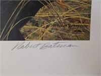 "Signed Robert Bateman ""New Season-American Robin"""