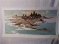 Signed & Numbered Frank McCarthy Print #286/1250