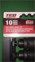 Teq Correct 10 Pc. Standard Impact Sockets