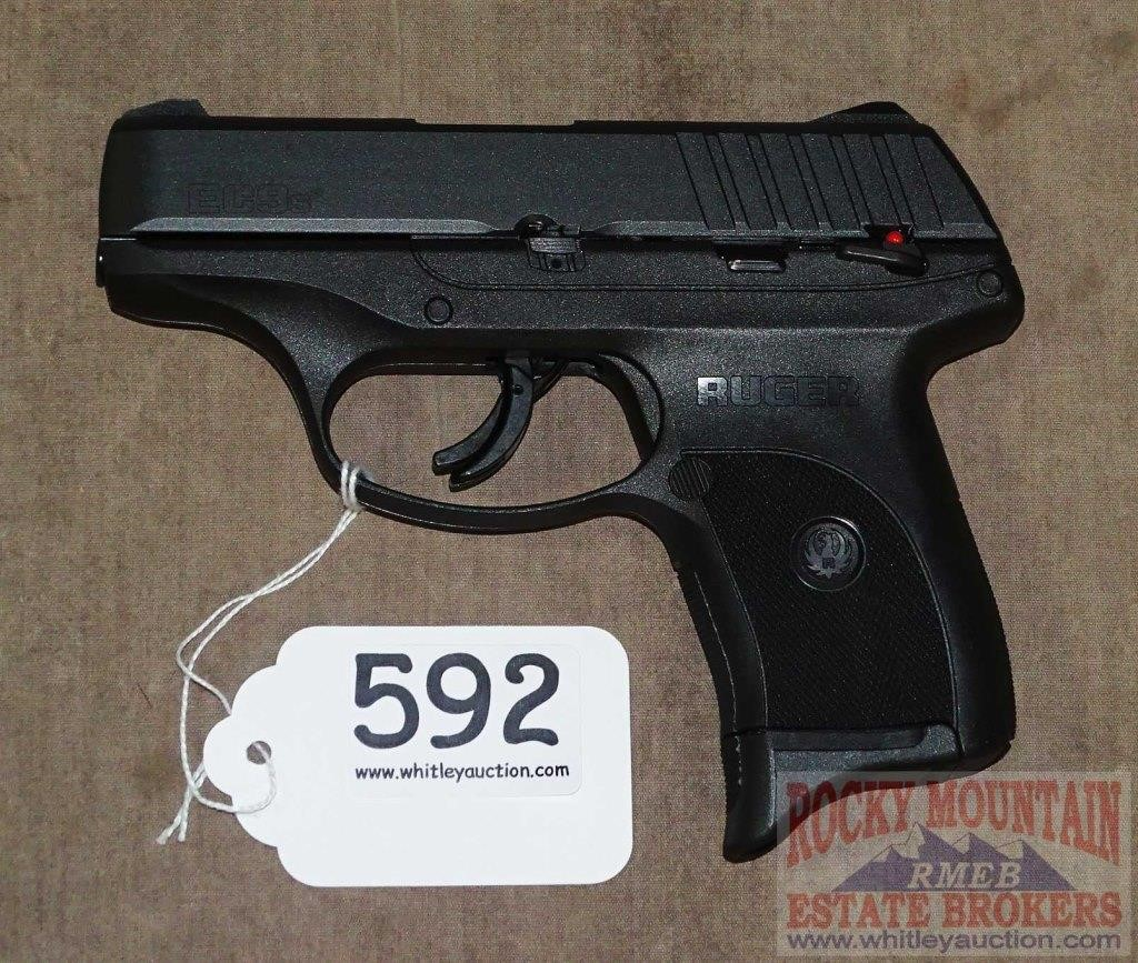Brand new Ruger EC9s 9mm SA Pistol    Auctioneers Who Know