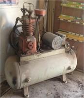 Older working air compressor