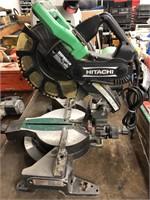 """Hitachi 12"""" laser miter saw"""
