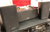 Stereo components and surround sound speakers