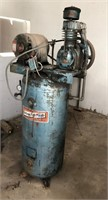 (2) older non-working air compressors