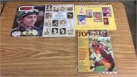 Football Guide, Turf Magazine & 2-Baseball