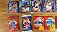 Lot of Unopened Packs Of Baseball Cards