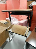 2 Small Computer Tables