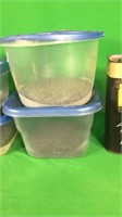 Assorted Partial Containers Of Powder