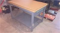 1 Drawer Metal Stand