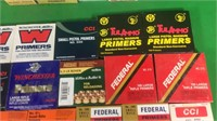 Asst.Full & Partial Boxes Of Sm/Lg Rifle Primers