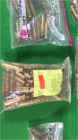 Assorted Rifle Casings-.30 TC, .257 Roberts, .222,