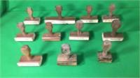 12- Stamps For Ammunition