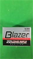 .22LR Blazer Ammo- 40Gr.-50 Round Boxes