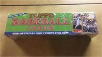 1987 Topps Baseball Card Complete Set