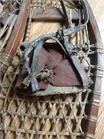 Antique snow shoes