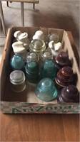 Box of Glass Insulators