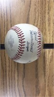Signed Baseball-2 Signitures- See Pictures