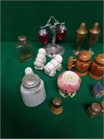 Collection of Salt and Pepper Shakers