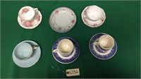 Box Lot of Cups and Saucers