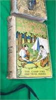 2 Camp Fire Books & Toy Holster