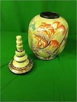 Oriental small jars