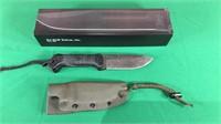 KA-BAR BK-2 Hunting Knife W/Sheath