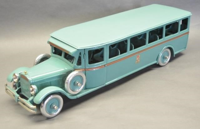 Restored Buddy L 208 Coach Bus | Kraft Auction Service
