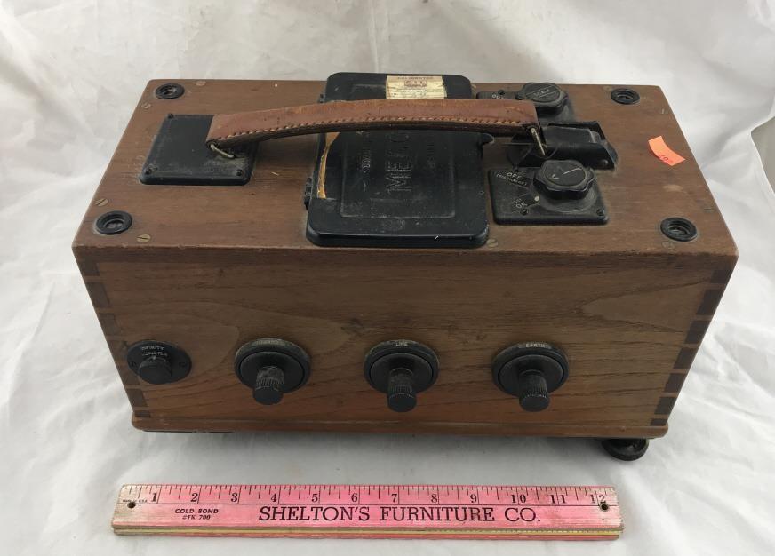 Vintage Biddle Megger Insulation Tester Chesapeake Marketplace