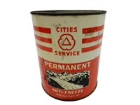 CITIES SERVICE PERMANENT ANTI-FREEZE IMP. GAL. CAN