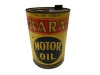 KARA MOTOR OIL IMP. GAL. CAN