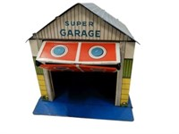 CHILD'S SUPER GARAGE TIN TOY