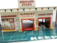 MARX CANADIAN TIRE CORP/N TIN TOY GARAGE
