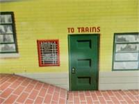 GLENDALE TRAIN STATION TIN TOY