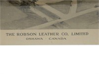 ROBSON LEATHER CO., OSHAWA CANADA PRINT
