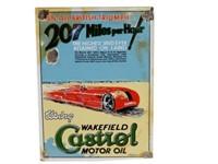 WAKEFIELD CASTROL MOTOR OIL TRIUMPH SSP SIGN