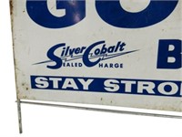 "GOULD BATTERIES"" STAY STRONGER"" SST RACK TOPPER"