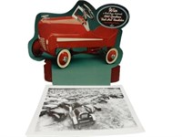LOT OF 2 PEDAL CAR ADVERTISING
