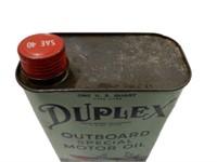 DUPLEX OUTBOARD MOTOR OIL U.S. QT. CAN