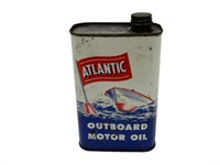 ATLANTIC OUTBOARD MOTOR OIL U.S. QT CAN