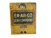 EN-AR-CO GEAR COMPOUND D/S METAL LUBE SIGN