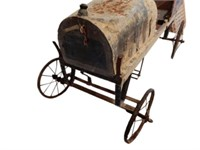 EARLY 1920'S TRUCK PEDAL CAR - BARN FIND