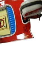 SPEED POWER BOAT TIN TOY / SPEEDO MOTOR
