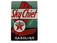 1947 SKY CHIEF GASOLINE SSP PUMP PLATE