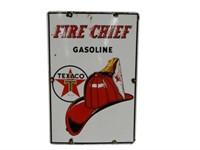 1954 FIRE CHIEF GASOLINE SSP PUMP PLATE