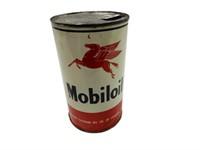 MOBILOIL PEGASUS MOTOR OIL IMP. QT. CAN