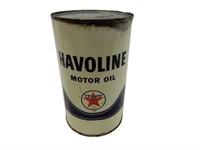 HAVOLINE MOTOR OIL IMP. QT. CAN