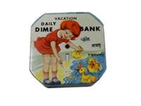 VACATION DAILY DIME BANK