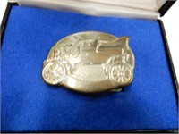 FORD MOTOR COMPANY 75TH ANNIVERSARY BELT BUCKLE