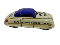 MARX SAFE DRIVING SCHOOL CAR NO. 1  WIND-UP TOY